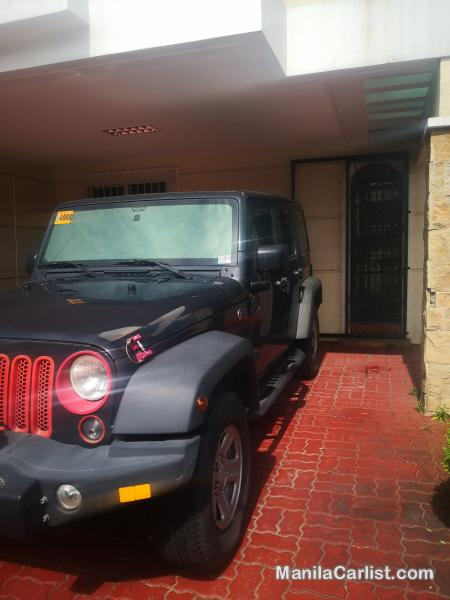 Jeep Wrangler Sports Automatic 2018 in Pampanga
