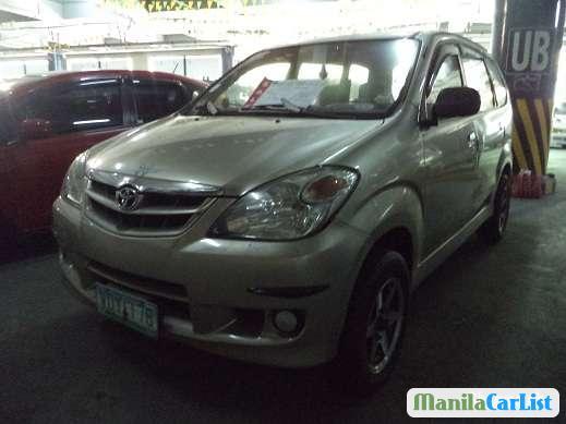Toyota Avanza Manual 2008 in Cotabato City