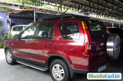 Honda CR-V Automatic 2002 in Davao del Norte