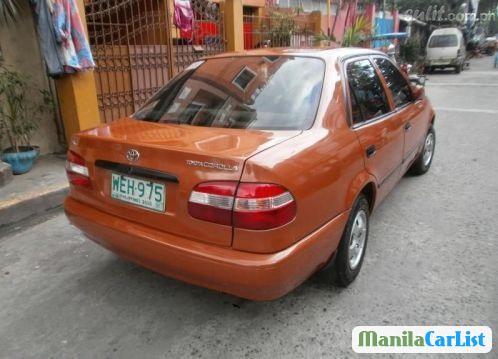 Toyota Corolla Manual 2015 in Metro Manila