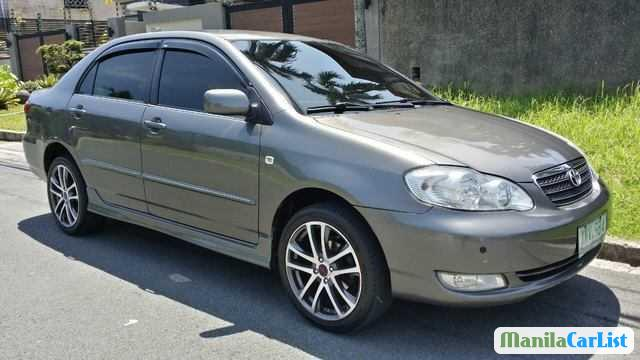 Pictures of Toyota Corolla Automatic 2004