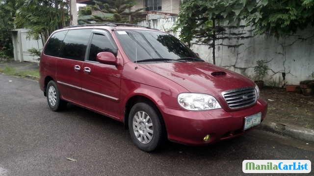 Pictures of Kia Sedona Manual 2003