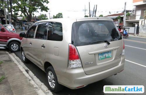 Toyota Innova Manual 2008 in Philippines