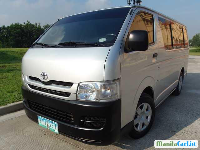 Picture of Toyota Hiace Manual 2012