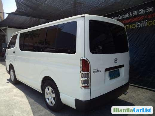 Toyota Hiace Manual 2010 in Sulu