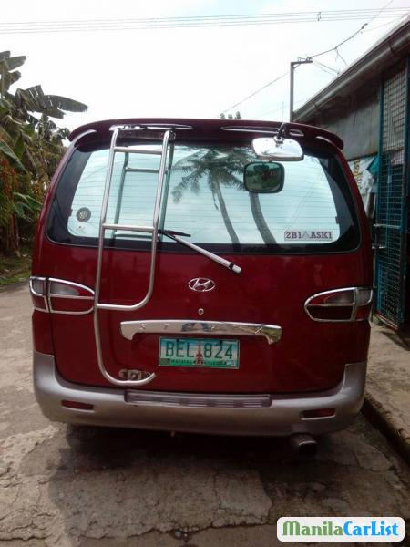Hyundai Starex Manual 1998 in Philippines