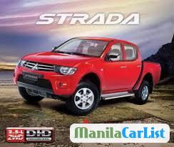 Picture of Mitsubishi Strada Manual 2014