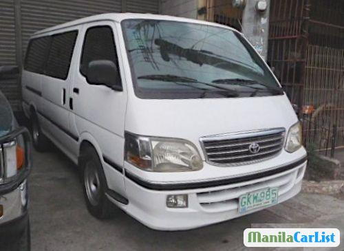 Picture of Toyota Hiace Manual 1990