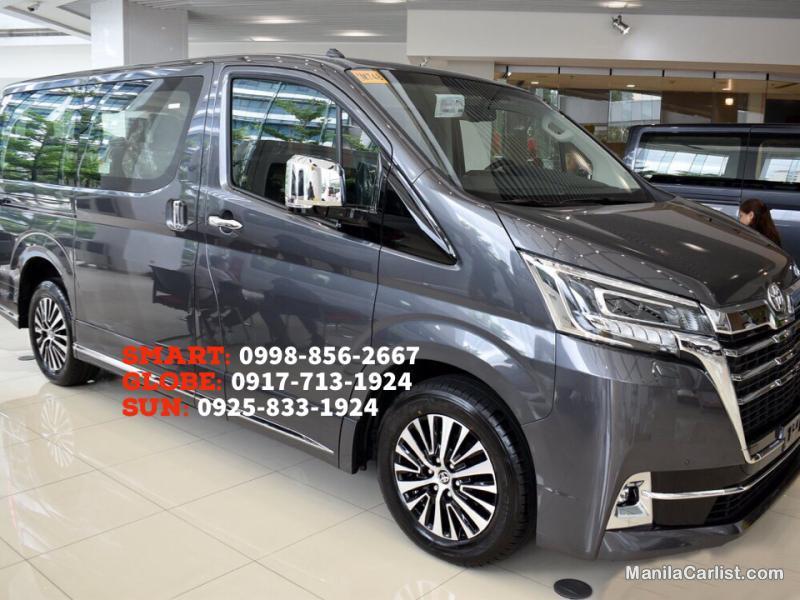 Toyota Hiace SG Elite Premium Automatic 2020 in Metro Manila