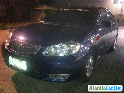 Picture of Toyota Corolla 2002