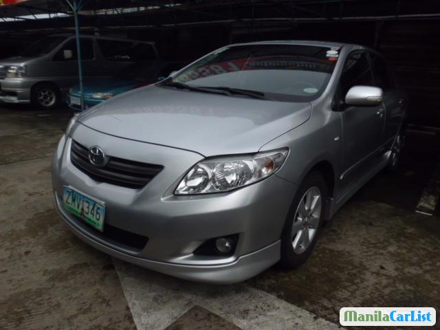 Pictures of Toyota Corolla Manual 2008