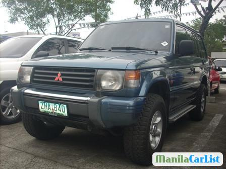 Picture of Mitsubishi Pajero Manual 1992