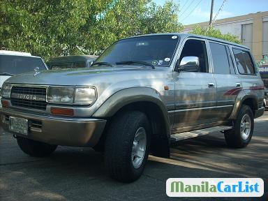 Picture of Toyota Land Cruiser Manual 1994