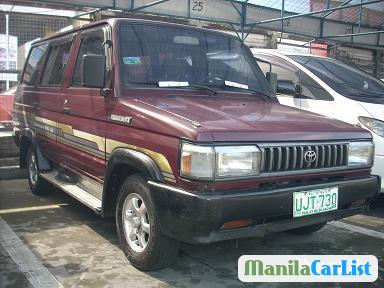 Picture of Toyota Tamaraw FX FX Manual 1996