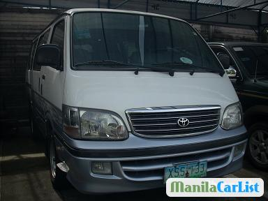 Picture of Toyota Hiace Manual 2004