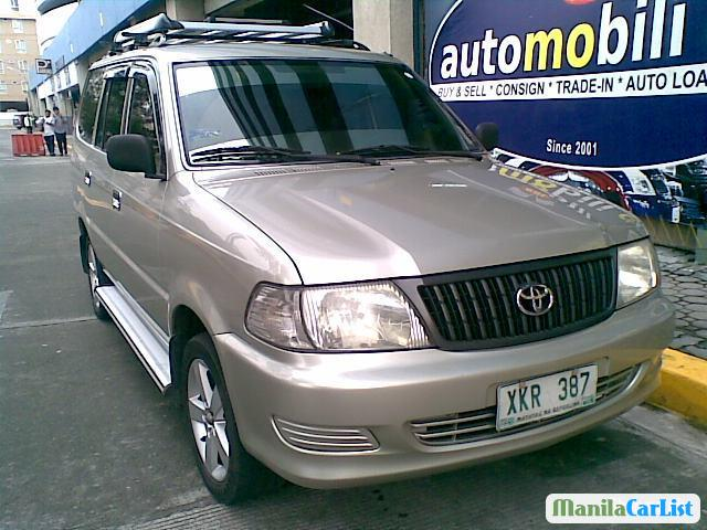 Pictures of Toyota Revo Manual 2003