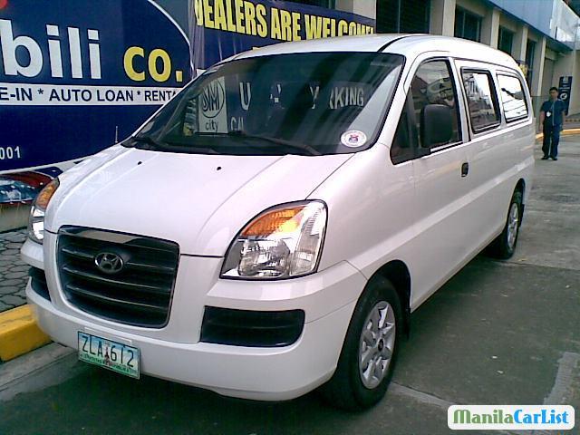 Picture of Hyundai Starex Manual 2007