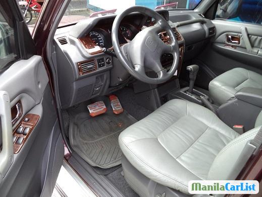 Pictures of Mitsubishi Pajero Automatic 2001