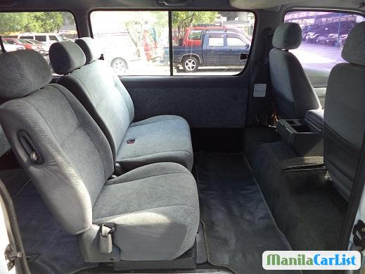 Picture of Toyota Hiace Manual 1999