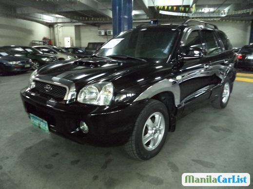 Pictures of Hyundai Santa Fe Manual 2001
