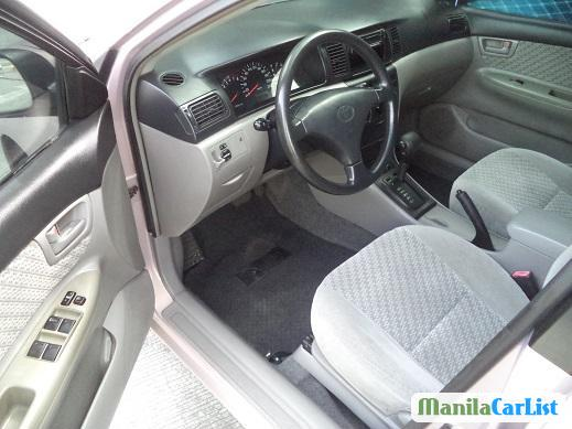 Pictures of Toyota Corolla Automatic 2002