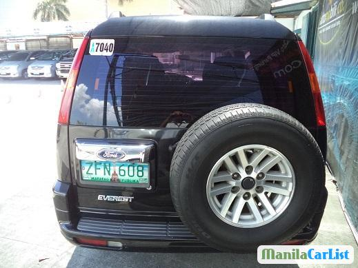 Picture of Ford Everest Manual 2006