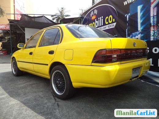 Pictures of Toyota Corolla Manual 1995