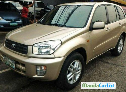 Picture of Toyota RAV4 Manual 2003