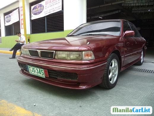Mitsubishi Galant Manual 1992