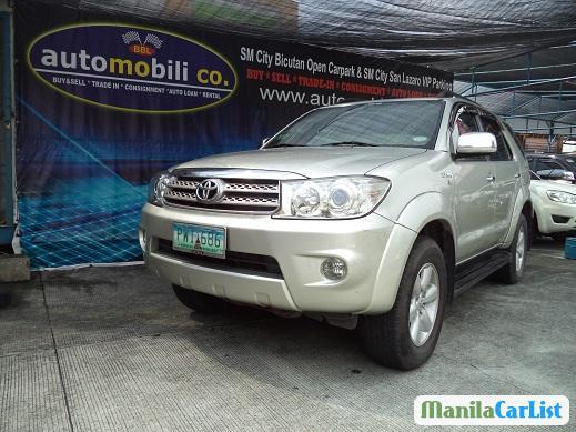 Toyota Fortuner Automatic 2010 in Metro Manila