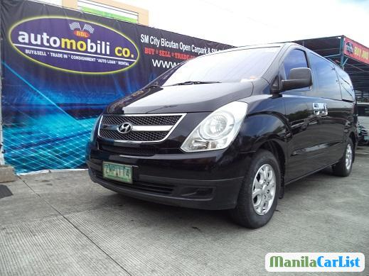 Hyundai Starex Manual 2008 in Metro Manila
