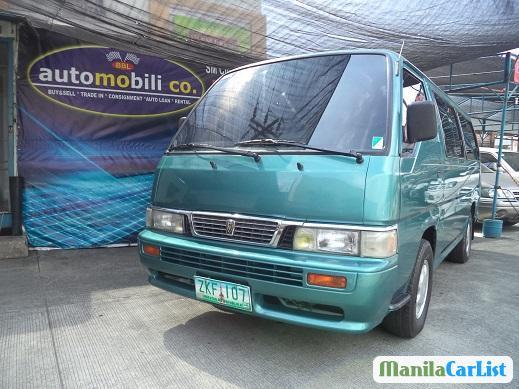 Nissan Urvan Manual 2007 in Metro Manila
