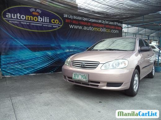 Toyota Corolla Automatic 2002 in Metro Manila