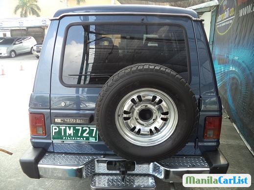 Mitsubishi Pajero Manual 1989 in Metro Manila