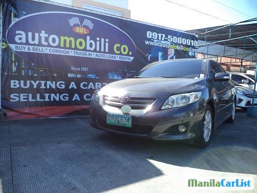 Toyota Corolla Automatic 2008 in Metro Manila