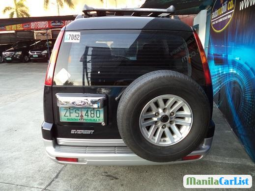 Ford Everest Manual 2006 in Philippines