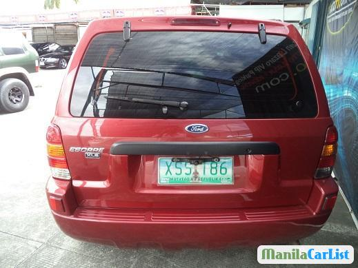 Ford Escape Automatic 2004 in Philippines
