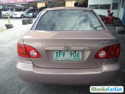 Toyota Corolla Automatic 2002 in Philippines