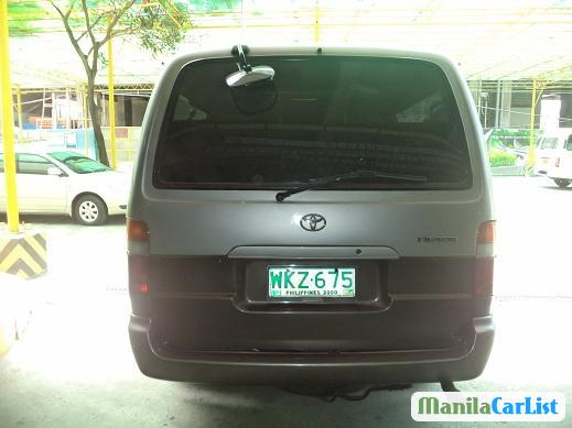 Toyota 4Runner Manual 1999 in Philippines