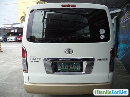 Toyota Hiace Manual 2009 in Philippines