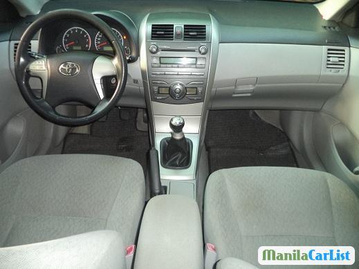 Toyota Corolla Manual 2010 in Philippines