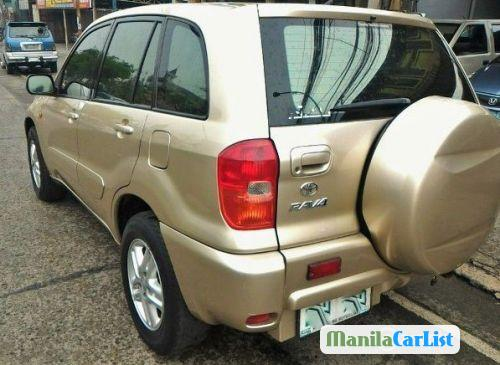 Toyota RAV4 Manual 2003 in Philippines