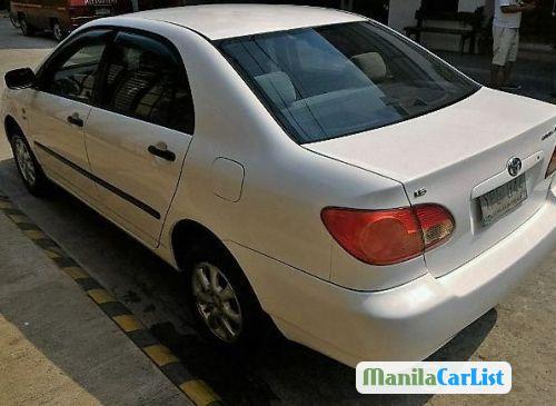 Toyota Corolla Manual 2004 in Philippines