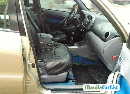 Picture of Toyota RAV4 Manual 2003 in Philippines