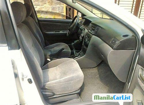 Picture of Toyota Corolla Manual 2004 in Philippines
