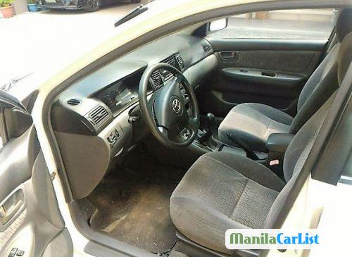 Toyota Corolla Manual 2004 in Philippines - image