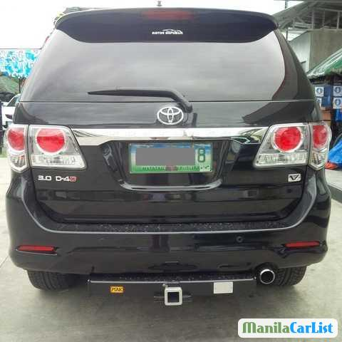 Toyota Fortuner Automatic 2013