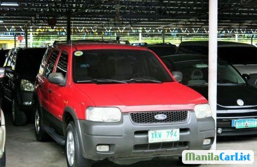 Pictures of Ford Escape Automatic 2003
