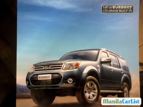 Picture of Ford Everest Manual 2013