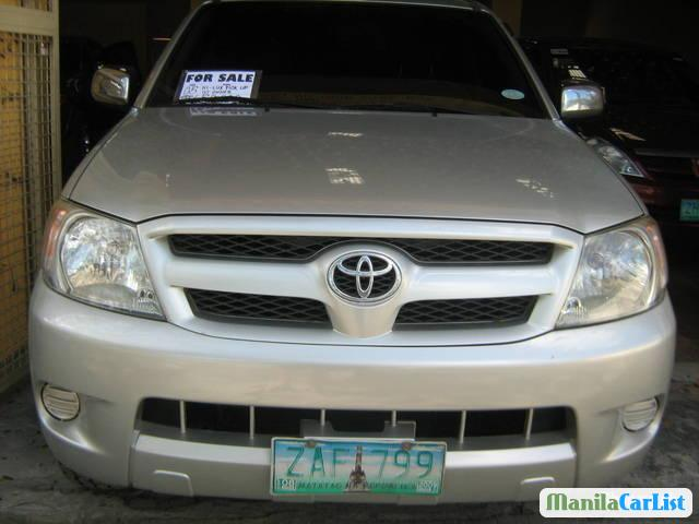 Picture of Toyota Hilux Manual 2005